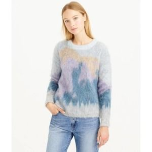 J. CREW COLLECTION Brushed Mohair Sweater